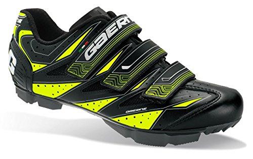 Gaerne G. Cosmo Zapatillas MTB de clic bicicleta guantes Cosmo, hombre, amarillo, 42 UE