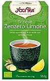 Yogi Tea Infusión de Hierbas Te Verde, Jengibre y Limón -