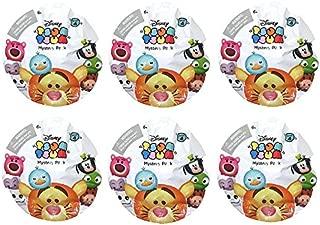 Bundle of 6: Disney Tsum Tsum Series 4 Mystery Stack Pack