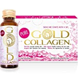 GOLD COLLAGEN® Pure 10 Day - Fight Early Signs of ageing, Nourishing You from The Inside, boosts Natural Collagen, Elastin and Hydration Levels - hydrolysed Collagen, hyaluronic Acid, Borage Oil