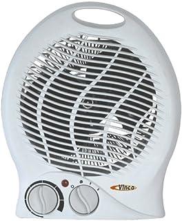 Vinco 70304 - Calefactor (Calentador de ventilador, Mesa, 2000 W, 1000 W, 1,1 kg, Eléctrico)