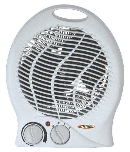 Vinco 70304 - Calefactor (Calentador de ventilador, Mesa, 2000 W, 1000 W,...