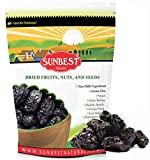 SUNBEST NATURAL Pitted Dried Prunes, Dried Plum - Pitted in Resealable Bag (3 Lb)