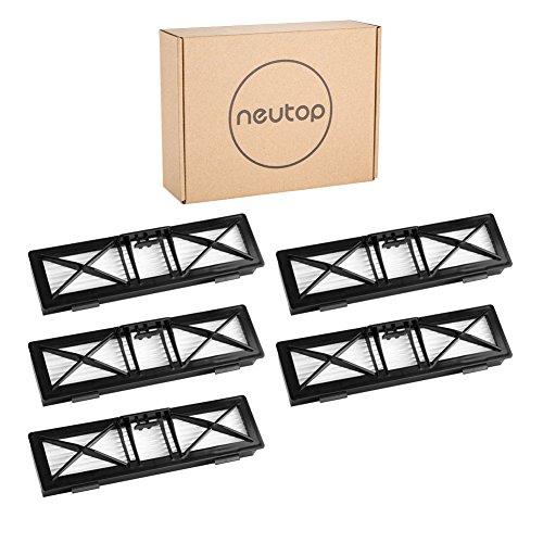 Neutop Filtro para Neato Botvac Conectado D3D5, Botvac Serie D D80D85y Todos Botvac Serie, 5Unidades