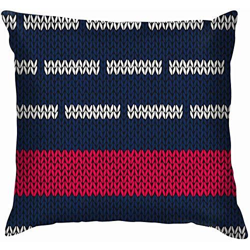 NA stijl marine blauw wit rood kussenslopen accent huisbank kussensloop decoratief