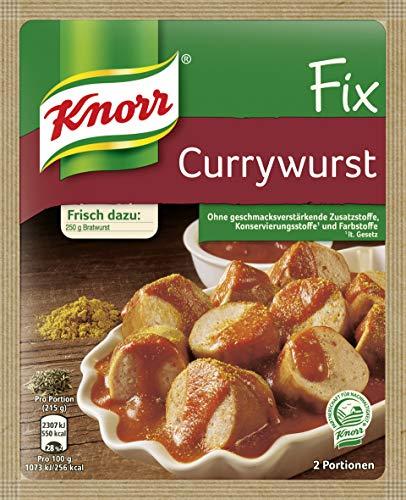 Knorr Fix Würzbasis Currywurst, 36 g 2 Portionen