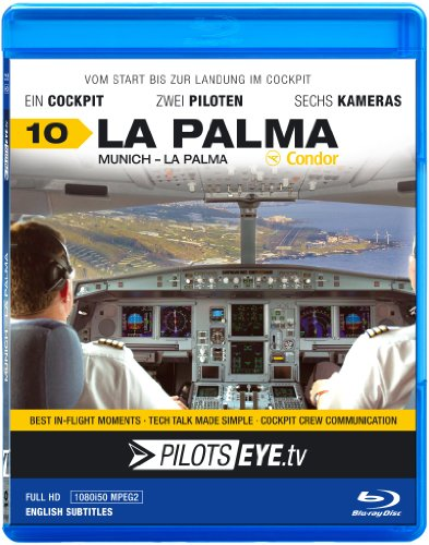 PilotsEYE.tv | LA PALMA | Cockpitmitflug A320 | CONDOR Berlin |