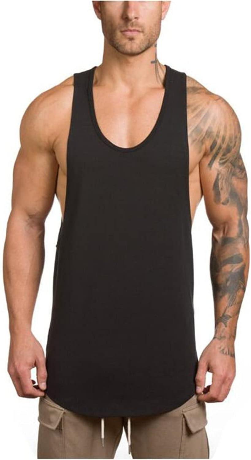 Men's Gym Bodybuilding Tank Gifts Top Workout Alternative dealer Sle Muscle Fitness Shirt