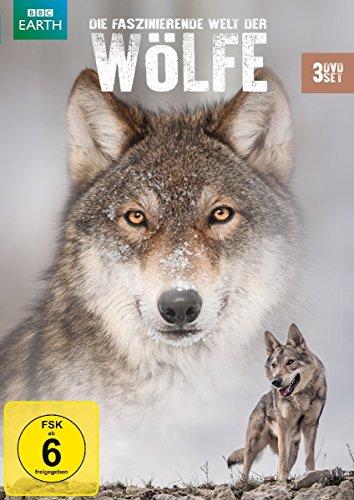 Die faszinierende Welt der Wölfe [3 DVDs]
