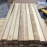 1 Pc of Square Lathe Blank Drum Stick Exotic Wood 1'x1'x20'