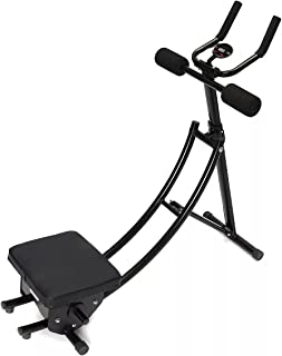 AB Workout Machine, Hem Justerbar tränare med Enhet LCD-räknare Abdominal Hel Body Workout Abdominal Crunch Coaster Machin...