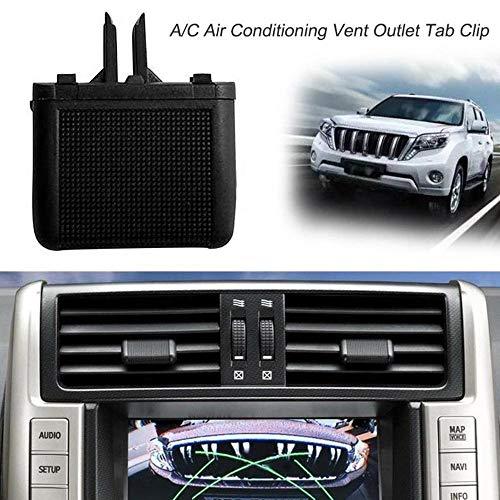 Pandiki 60mm Auto RV ATV A//C Klimaanlage Vent Outlet Tab Clip Rotating Innen Runde Decken
