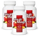✅AFRICAN MANGO Premium (3x) quema grasa eficaz, quemadores de grasa, supresores del apetito, adelgazar rápido, saludable y desintoxicante (180 Cápsulas)
