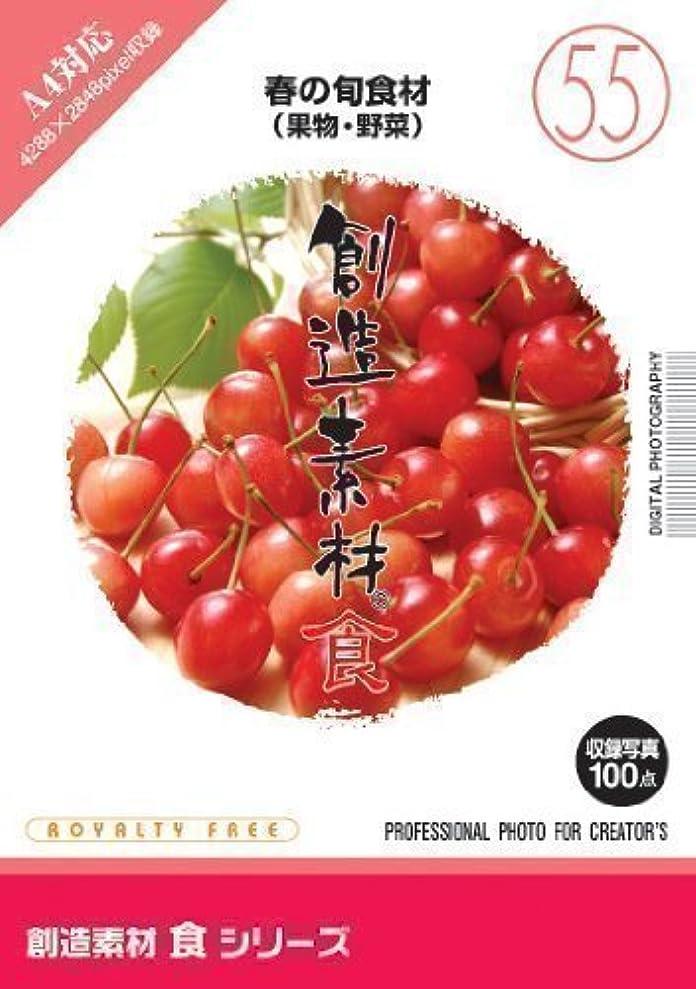 ながら昼間調べる創造素材 食(55)春の旬食材(果物?野菜)