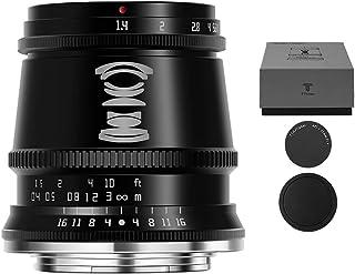 TTArtisan 17mm F1.4カメラレンズ APS-C大口径広角ASPH 固定焦点マイクロ単レンズ Fuji X マウント X-T1X-T10 X-T2 X-T20 X-T3 X-T4 X-T100 X-T200 X-T30 X-PR0...