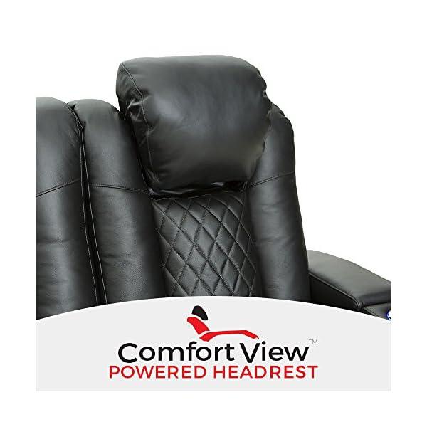 Seatcraft Anthem Home Theater Seating closeup headrest