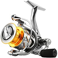 SKYSPER Carretes de spincasting 10 + 1BB Pesca Spinning Carrete Sistema de Fibra de Carbono Arrastre