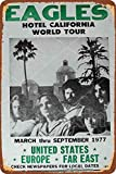 HONGXIN 1977 Eagles Hotel California World Tour