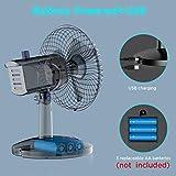 Zoom IMG-2 ventilatori da tavolo metallo easyacc