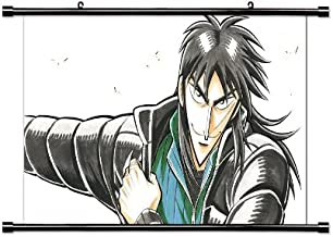 Kaiji Ultimate Survivor (Gyakkyou Burai Kaiji) Anime Fabric Wall Scroll Poster (32 x 18) Inches.[WP]-Kai-1 (L)