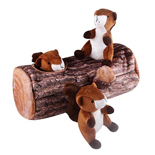 Puzle para perros, de IFOYO. Juguete de felpa con silbato interno. Interactivo. Para perros pequeños y medianos