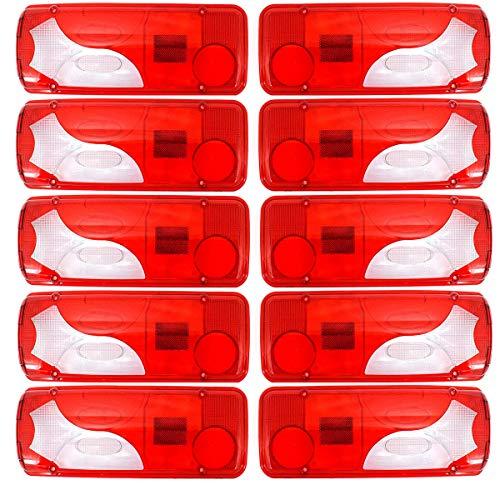 10x (5 Satz) Ersatzgläser Lichtscheibe Gläser Rückleuchte Nochwertig LKW