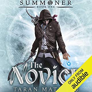 The Novice audiobook cover art