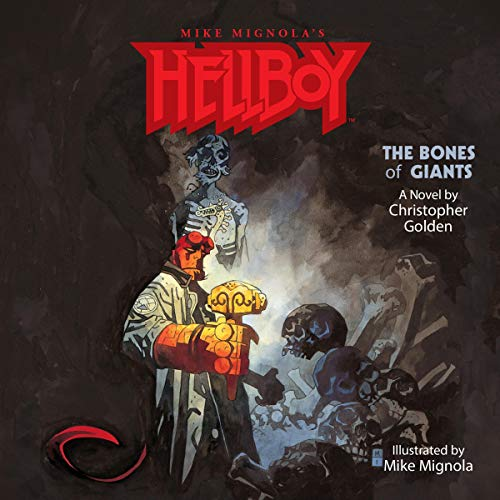 Page de couverture de Hellboy: The Bones of Giants