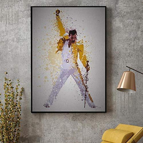 Queen Rhapsody Lienzo Pintura Carteles e Impresiones de Cuadros en la Pared Decoración Decorativa Abstracta para el hogar 60x80cm Sin Marco