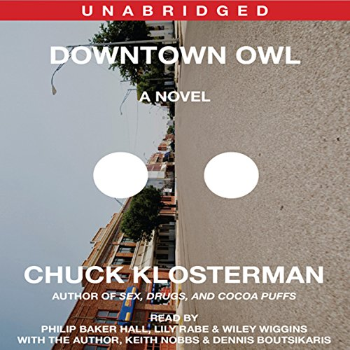 Downtown Owl audiobook cover art