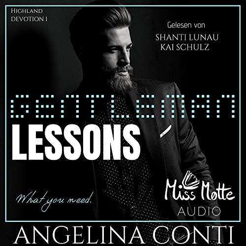 Gentleman LESSONS. What you need Titelbild