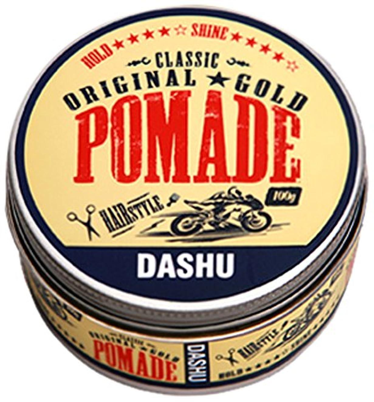 クルーズ悪意事務所[DASHU] ダシュ クラシックオリジナルゴールドポマードヘアワックス Classic Original Gold Pomade Hair Wax 100ml / 韓国製 . 韓国直送品