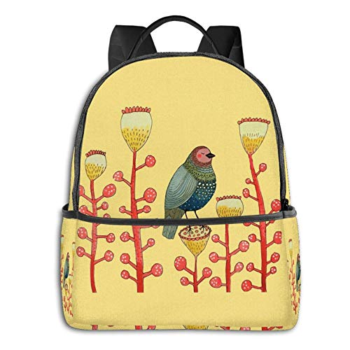 Le Petit Matin Tapestry School Unisex Large Capacity Durable Green Outdoor Activity