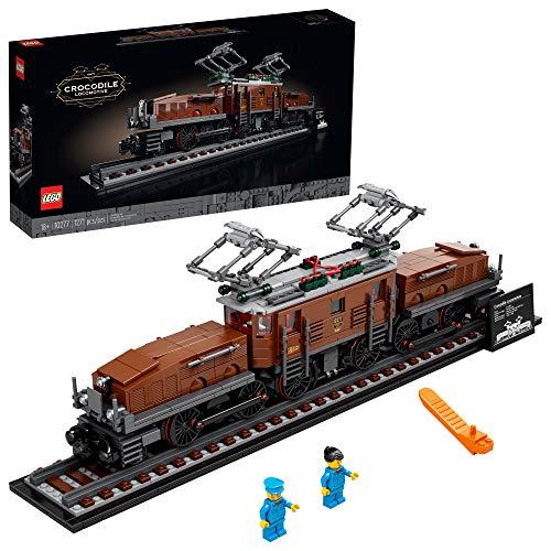 cheap Lego crocodile locomotive 10277 construction kit. Create a legendary crocodile locomotive with this …