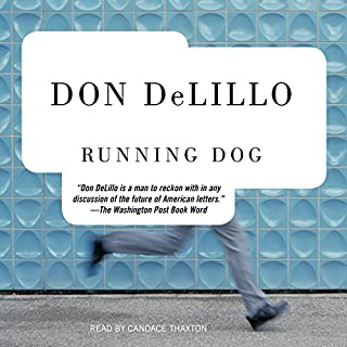 Running Dog audiobook cover art