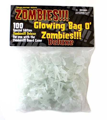 Twilight Creations Inc TLC02024 - Zombies - Glowing Bag O'Zombies Deluxe, Brettspiel