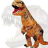 JASHKE Disfraz Inflable T-Rex Dinosaurio Adulto Disfraz Cosplay Disfraz Fiesta...