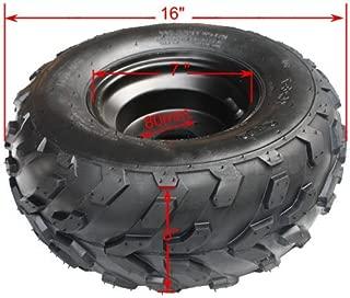 X-PRO 16x8-7 Right Front Rear Wheel Rim Tire Assembly for 110cc 125cc ATV Go Kart 80mm