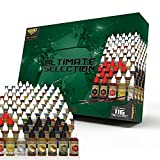 The Army Painter- Wargames Delivered Ultimate Selection Model & Miniature Paint Set- Model Paints for Plastic Models- Miniature Painting Kit- 116 Model Paints, Mixing Bottles, Mixing Balls & Brushes