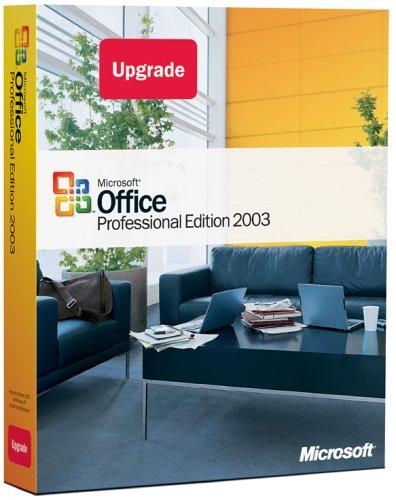 Microsoft Office Professional 2003 Upgrade