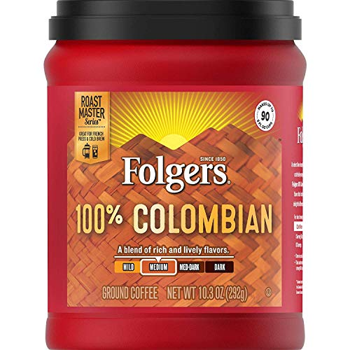 Folgers 100% Colombian Coffee 10.3 (2 Pack)