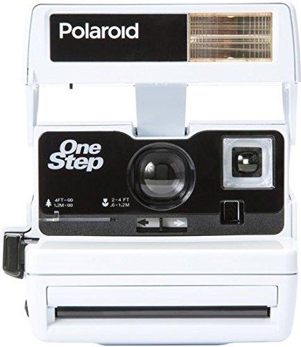 Impossible macchina fotografica istantanea Polaroid 600One Step Close Up edizione speciale Bright bianco