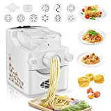 Automatic Electric Pasta and Ramen Noodle Maker Machine, Kacsoo Home Use 9 Noodle Molds and 3...