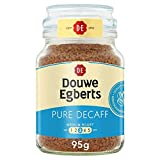 Douwe Egberts Pure Decaf Instant Coffee 95g (Total of 6 Jars)