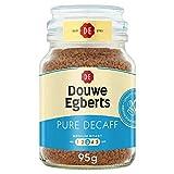 Douwe Egberts Pure Decaf Medium Roast Instant Coffee, 6 x 95g