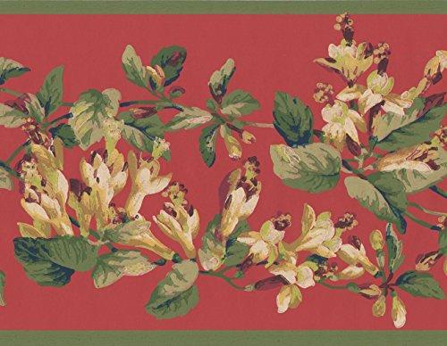 Papier peint motif fleur