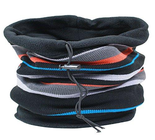 RockJock reversible neck warmer/Hood/Scarf/Kagoul for Men - Multicolour -...
