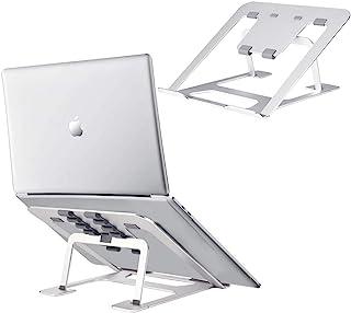 Adjustable Laptop Stand for Desk PHOCAR MacBook Riser Stand Portable Notebook Holder Stands Aluminum Cooling Base for Tabl...