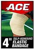 ACE Self-Adhering Elastic Bandage, Inch, Tan 4 Inch 4.0 Count