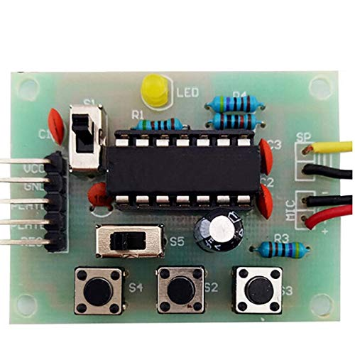 20S 20 Seconds DC 3-5V Voice Recording Module Regular discount Sound Kit 2021 model Recorder